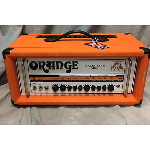 Orange Amplifiers Rockerverb RK50HMII Tube Guitar Amp Head