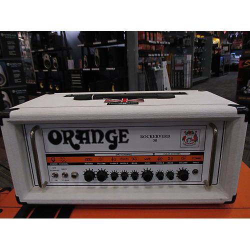 Orange Amplifiers Rockerverb RK50HTC 50W Tube Guitar Amp Head-thumbnail