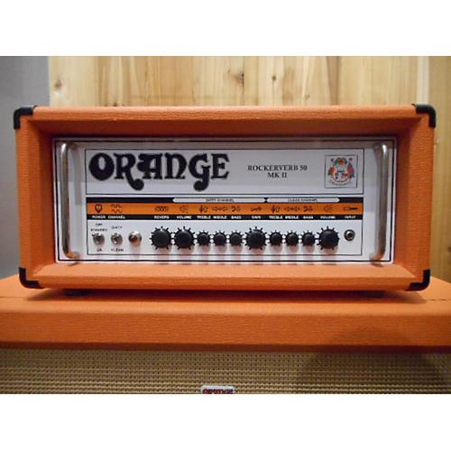 Orange Amplifiers Rockerverb RK50HTC MKII 50W Orange Tube Guitar Amp Head