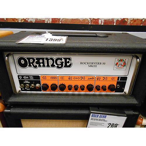 Orange Amplifiers Rockerverb RV50HMKIII Tube Guitar Amp Head-thumbnail