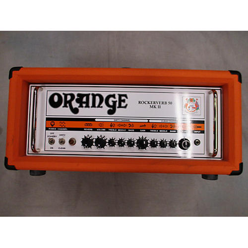 Orange Amplifiers Rockerverb Rk50HMII Tube Guitar Amp Head-thumbnail