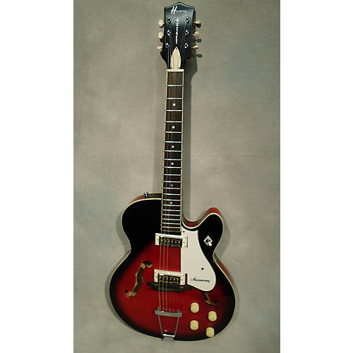 HARMONY Rocket Reissue Hollow Body Electric Guitar-thumbnail