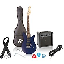 Rogue Rocketeer Electric Guitar Pack Level 1 Blue