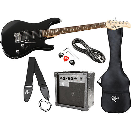 Rogue Rocketeer HSS Electric Guitar Value Pack