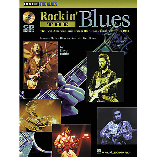 Hal Leonard Rockin' the Blues (Book and CD Package)-thumbnail