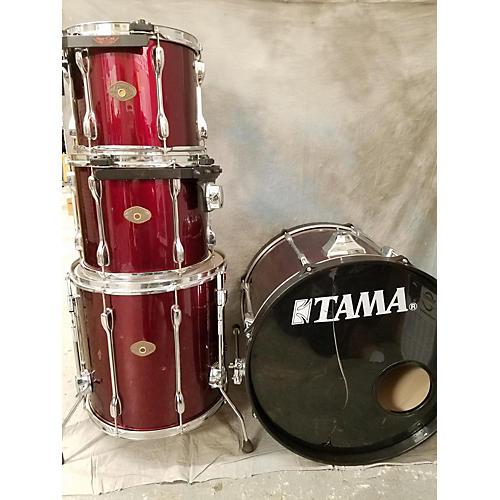 used tama rockstar drum kit maroon guitar center. Black Bedroom Furniture Sets. Home Design Ideas