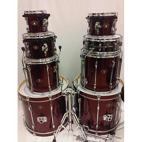 used tama rockstar drum kit guitar center. Black Bedroom Furniture Sets. Home Design Ideas