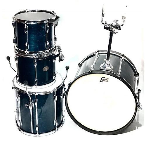 used tama rockstar drum kit dark turquios guitar center. Black Bedroom Furniture Sets. Home Design Ideas
