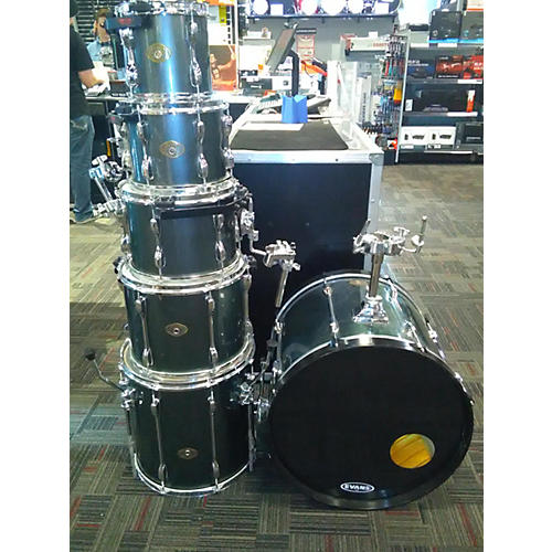 used tama rockstar drum kit gun metal grey guitar center. Black Bedroom Furniture Sets. Home Design Ideas