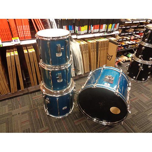 used tama rockstar drum kit blue guitar center. Black Bedroom Furniture Sets. Home Design Ideas