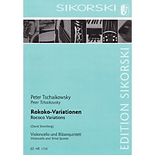 Sikorski Rococo Variations Ensemble Series Composed by Pyotr Il'yich Tchaikovsky Arranged by David Stromberg