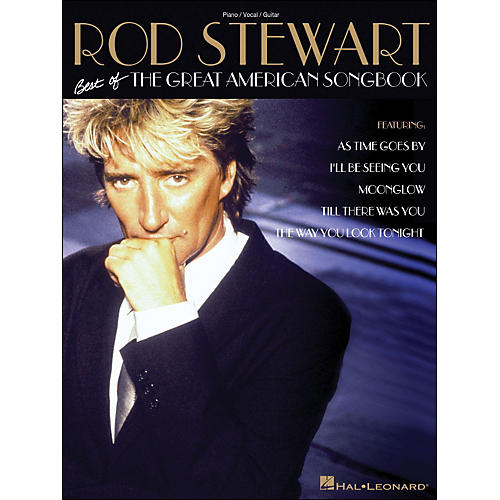 Hal Leonard Rod Stewart Best Of The Great American Songbook arranged for piano, vocal, and guitar (P/V/G)-thumbnail