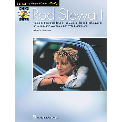 Hal Leonard Rod Stewart Guitar Signature Licks Book with CD