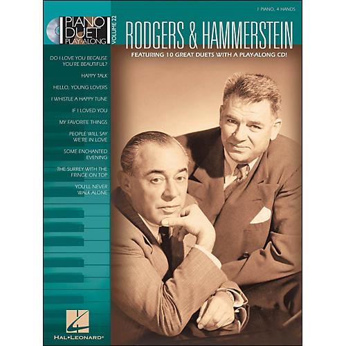 Hal Leonard Rodgers & Hammerstein Piano Duet Play-Along Volume 22 Book/CD