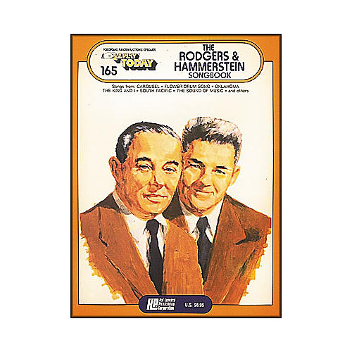 Hal Leonard Rodgers & Hammerstein Songbook E-Z Play 165