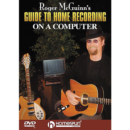 Homespun Roger McGuinn's Guide to Home Recording on a Computer (DVD)