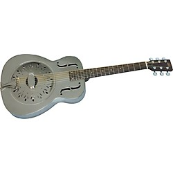 Rogue Classic Brass Body Resonator Guitar (SO-069-CB60)