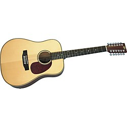 Rogue Herringbone 12-String Acoustic Guitar (SO-069-RADH12)