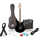 Rogue Rocketeer Electric Guitar Pack (RR100PK-BK)