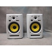 KRK Rokit 6 G2 Pair White Powered Monitor