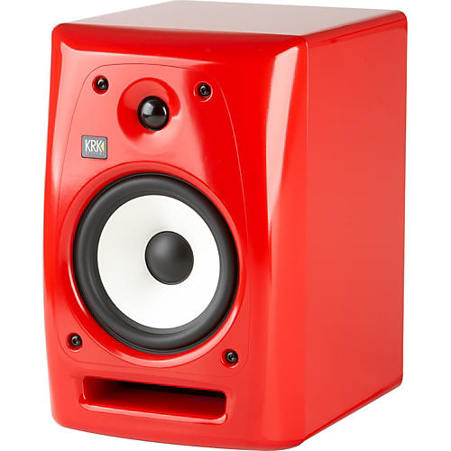 KRK Rokit Powered 6 G2 Limited Edition Studio Monitor - Red-thumbnail