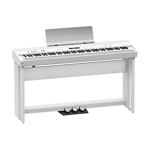 Roland Roland FP-90 Digital Piano Black with Stand and Pedal Board White-thumbnail