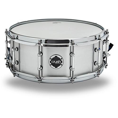 Crush Drums & Percussion Rolled Aluminum Snare Drum