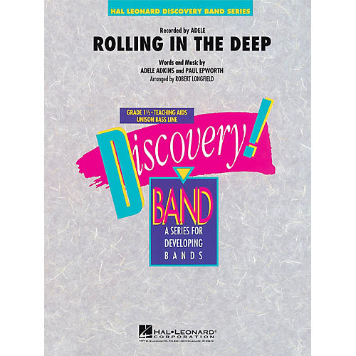 Hal Leonard Rolling In The Deep - Discovery! Concert Band Level 1.5-thumbnail