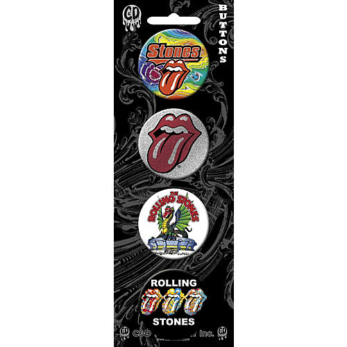 C&D Visionary Rolling Stones Button Set (4 Piece)