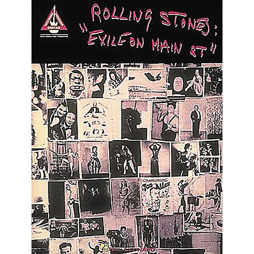 Hal Leonard Rolling Stones Exile on Main Street Guitar Tab Songbook-thumbnail