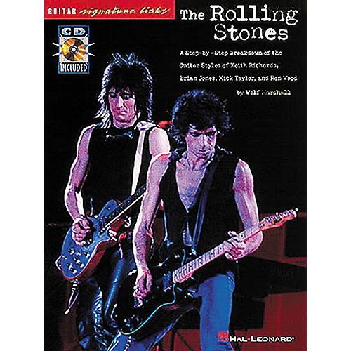 Hal Leonard Rolling Stones Guitar Signature Licks Book with CD