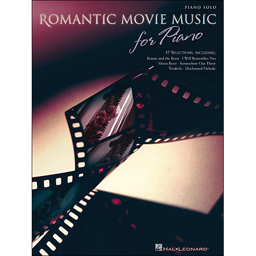 Hal Leonard Romantic Movie Music for Piano arranged for piano solo-thumbnail