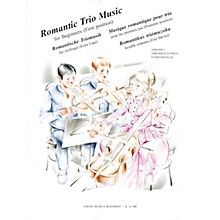 Editio Musica Budapest Romantic Trio Music for Beginners - First Position (Score & Parts) EMB Series Composed by Various
