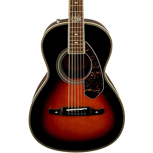 Fender Ron Emory Loyalty Parlor Acoustic Guitar Vintage Sunburst