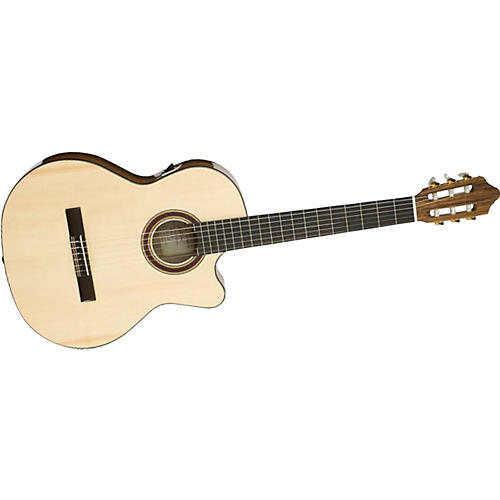 Kremona Rondo Cutaway Acoustic-Electric Classical Guitar