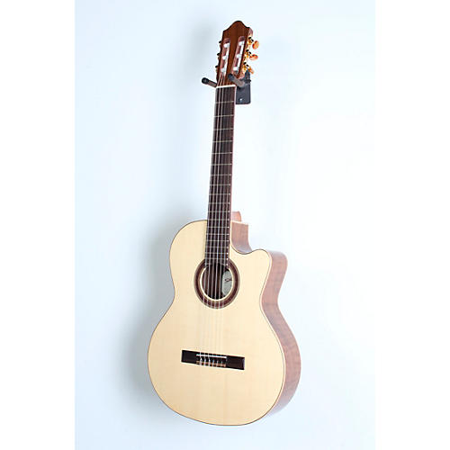 Kremona Rondo Cutaway Acoustic-Electric Classical Guitar with Hardshell Case-thumbnail