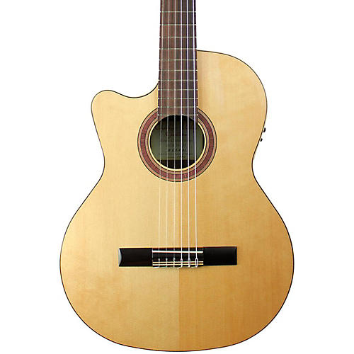 Kremona Rondo R65CW Left-Handed Classical Electric Guitar Gloss Natural