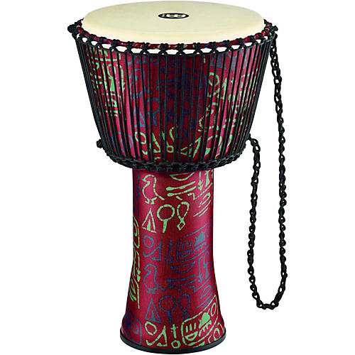 Meinl Rope Tuned Djembe with Synthetic Shell and Goat Skin Head-thumbnail
