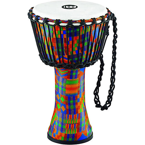 Meinl Rope-Tuned Djembe with Synthetic Shell and Head-thumbnail