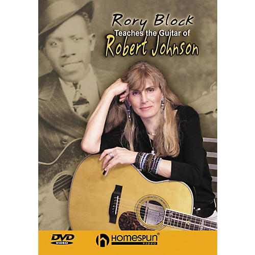 Homespun Rory Block Teaches The Guitar of Robert Johnson DVD-thumbnail