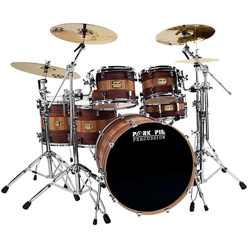 Pork Pie Rosewood Zebra Maple 5-Piece Shell Pack-thumbnail