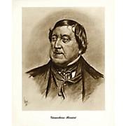 Music Sales Rossini (Lupas Small Portrait Poster) Music Sales America Series