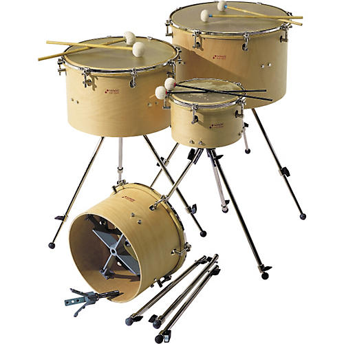 Sonor Rotary Timpani with Calfskin Head