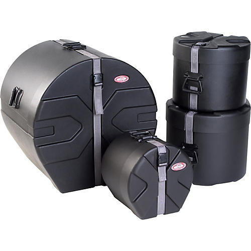 SKB Roto-X 4-Piece Fusion Drum Case Set