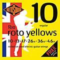 Rotosound Roto Yellows Electric Guitar Strings-thumbnail