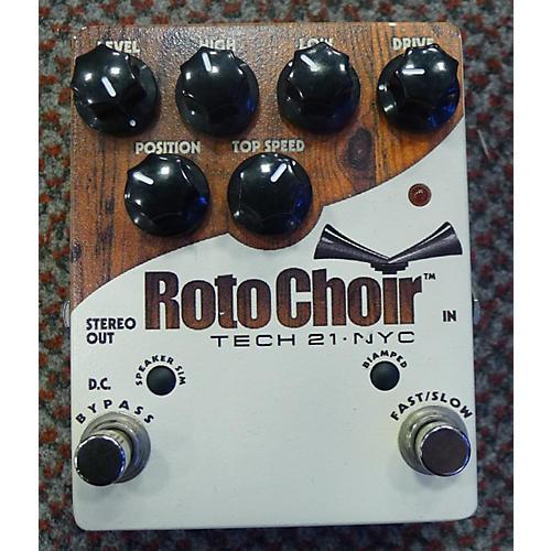Tech 21 Rotochoir Rotary Speaker Effect Pedal