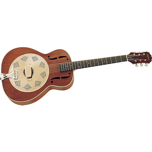 Epiphone Round Neck Biscuit Resophonic Guitar-thumbnail