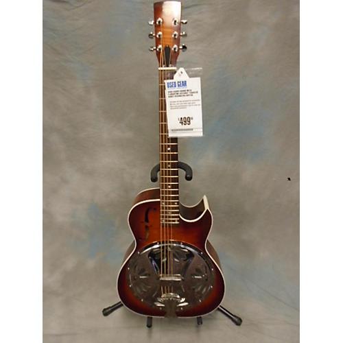 Dobro Round Neck Florentine Cutaway Resonator Guitar