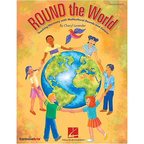 Hal Leonard Round The World Teaching Harmony Multicultural Rounds And Canons Performance/Accompaniment CD