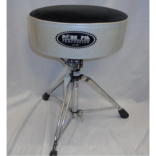 used pork pie round top drum throne guitar center. Black Bedroom Furniture Sets. Home Design Ideas